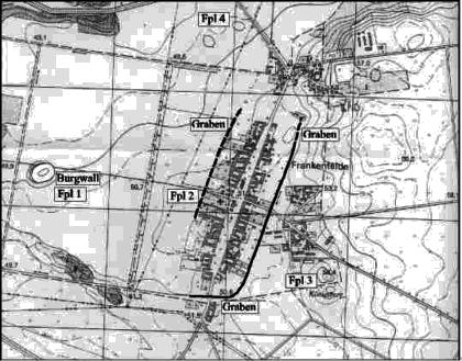 vorgeschichtliche Siedlung in Frankenfelde