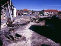 Jüterborg Straßenerneuerung