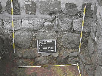 Steinmauer Dorfkirche